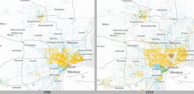 Urban Institute Detroit Poverty Maps