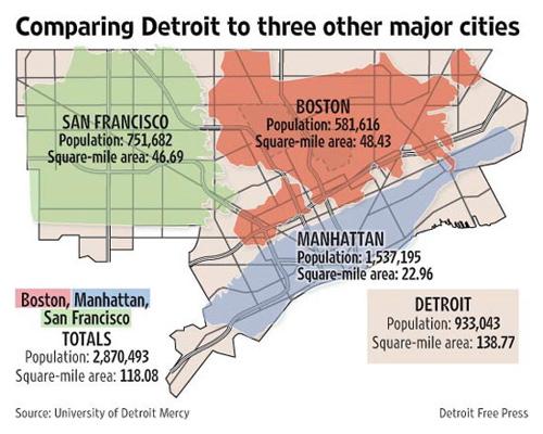 Map Four Detroits One Houston DETROITography