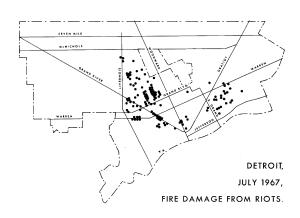Detroit Fire Damage 1967