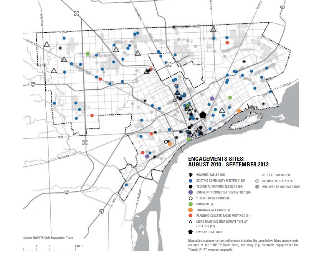 Detroit Future City Civic Engagement Maps  DETROITography