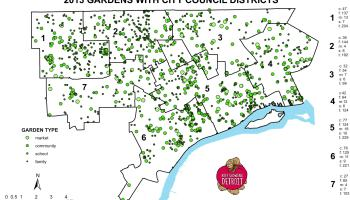 Map: Data Conundrums with ZIP Codes and Council Districts in Detroit Detroit Zip Code Map on