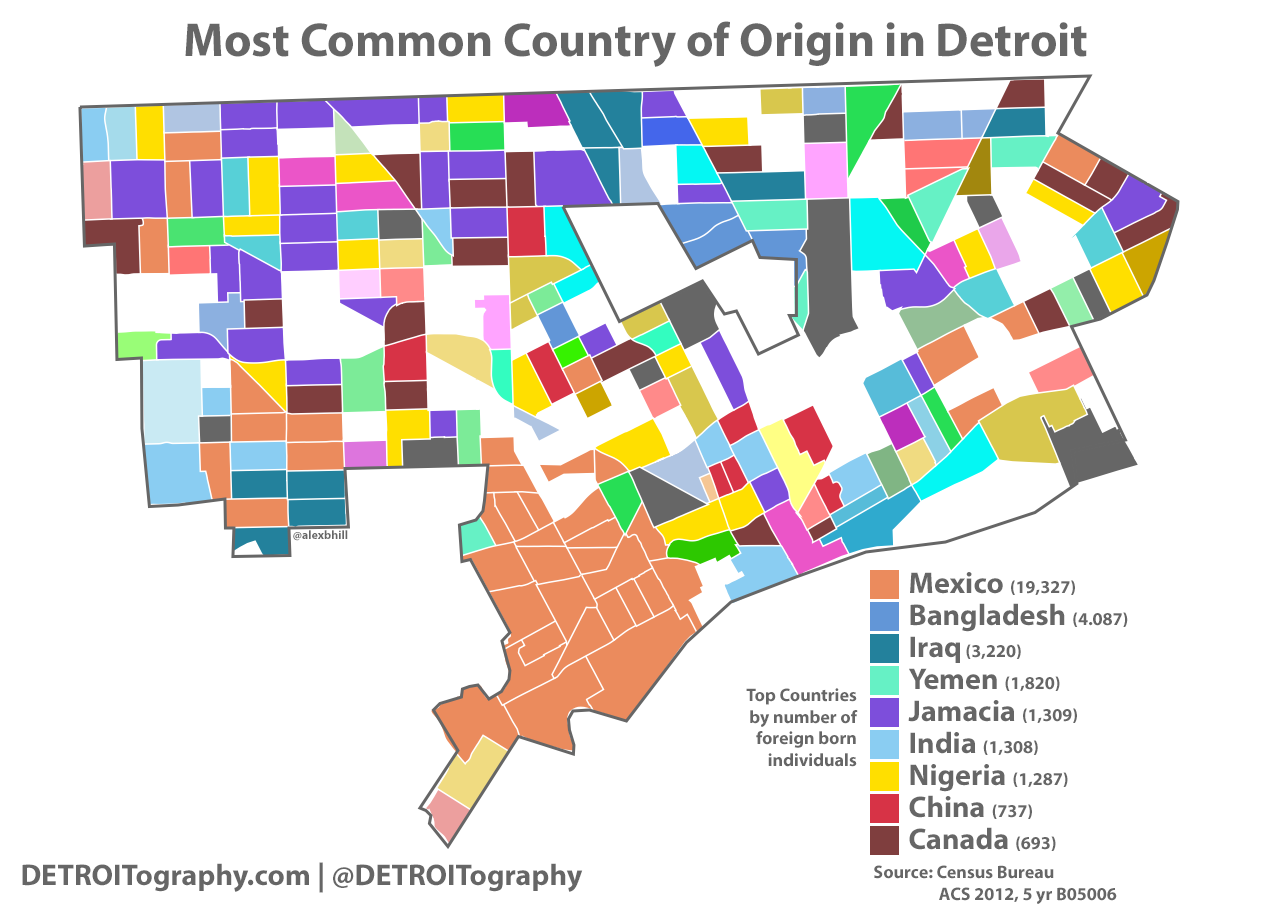 census tract maps with Map Most  Mon Country Of Origin In Detroit on Map Most  mon Country Of Origin In Detroit moreover  additionally Census 2010 Mecklenburg Patterns Residential Segregation in addition  in addition Cra Assessment Area Maps.