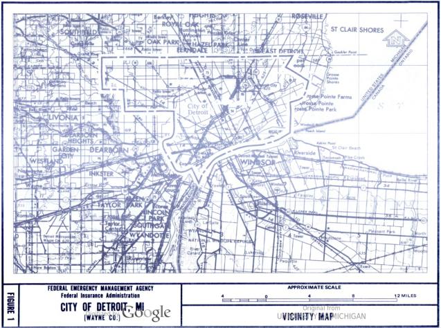 Detroit FEMA 1981