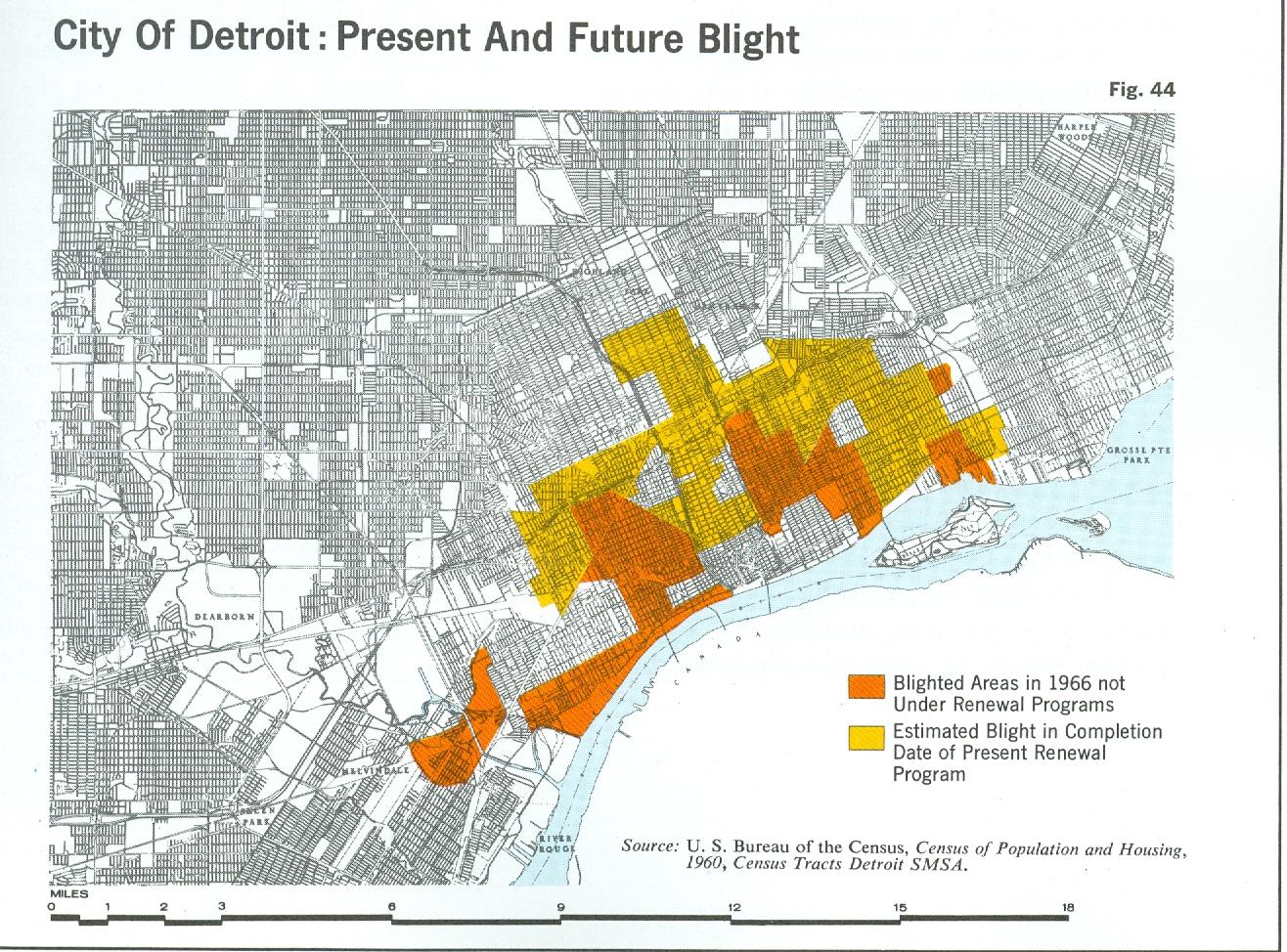 Detroit Macrohoods Map DETROITography