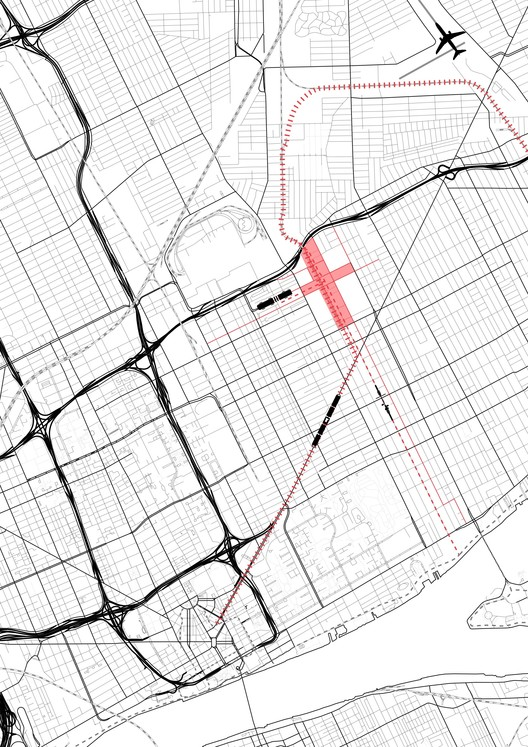 Detroit Streetcar Map on