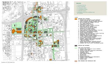 Map: Wayne State University Student Parking 1960 | DETROITography
