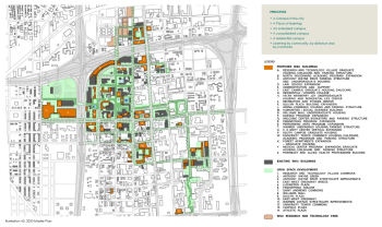 map wayne state university student parking 1960 detroitography