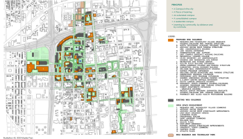 Map: Wayne State University Student Parking 1960 | DETROITography