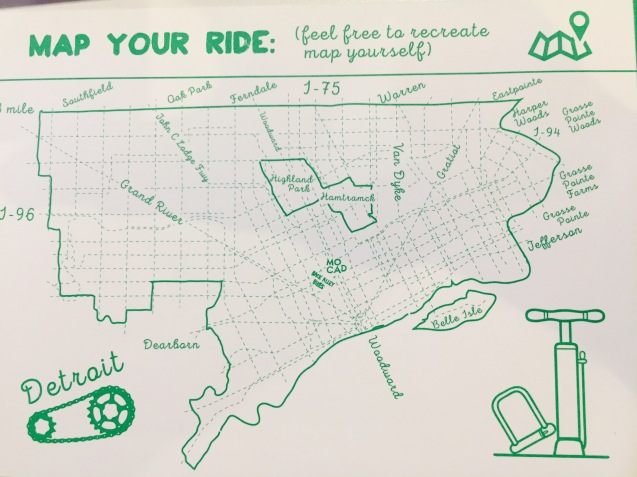 Map your own Detroit Bike Route | DETROITography Your Own Route Map on map your trip, map your travel, map your course, map your run, map your walk, map your garden, map your drive,