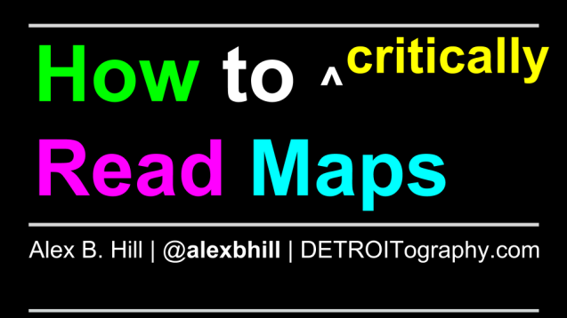 How to Read Maps(3)