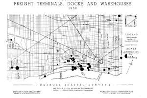 Metro Detroit Traffic Map.Detroitography
